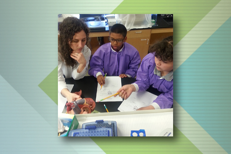 Seeds of Change Partnership Provides Opportunities for Medical Students and Fifth Graders