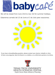 summer closure notice 2014