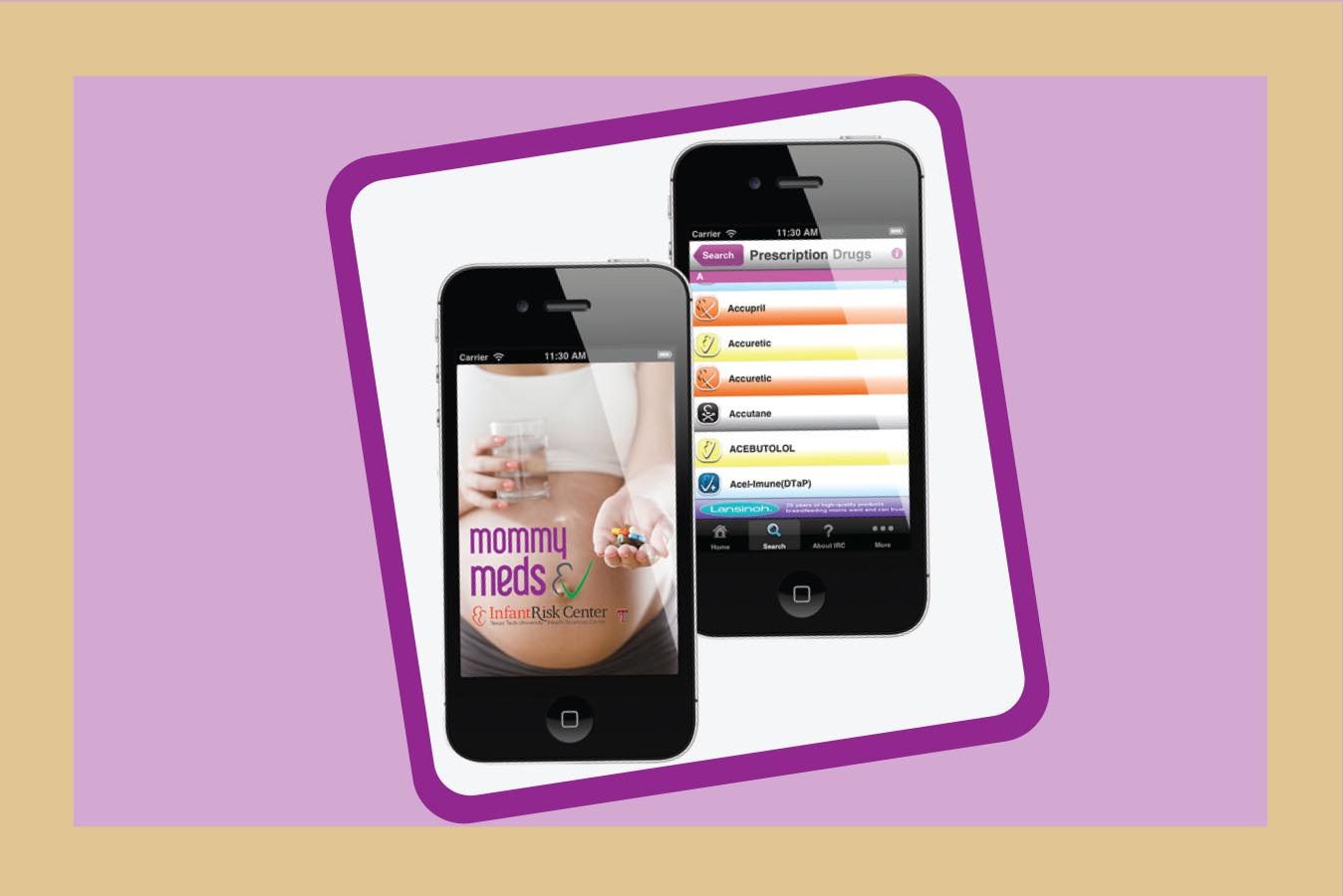 MommyMeds™ App: The Latest Diaper Bag Essential
