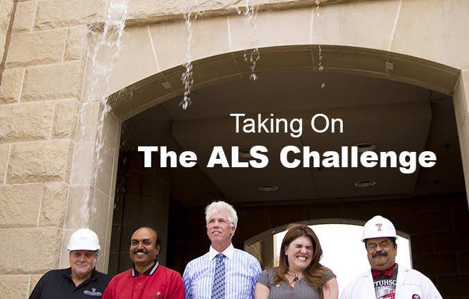 Watch TTUHSC El Paso Leadership Team Take On ALS Challenge