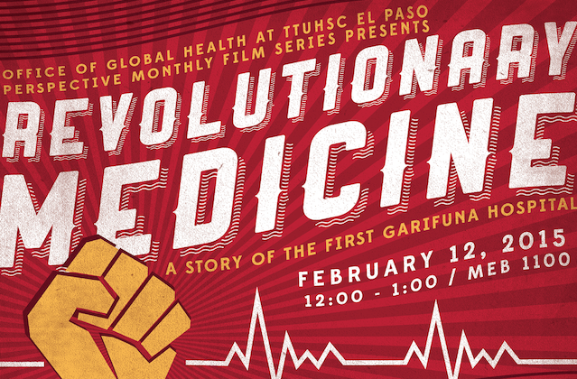 "Office of Global Health Perspective Monthly Film Series Screens ""Revolutionary Medicine"""