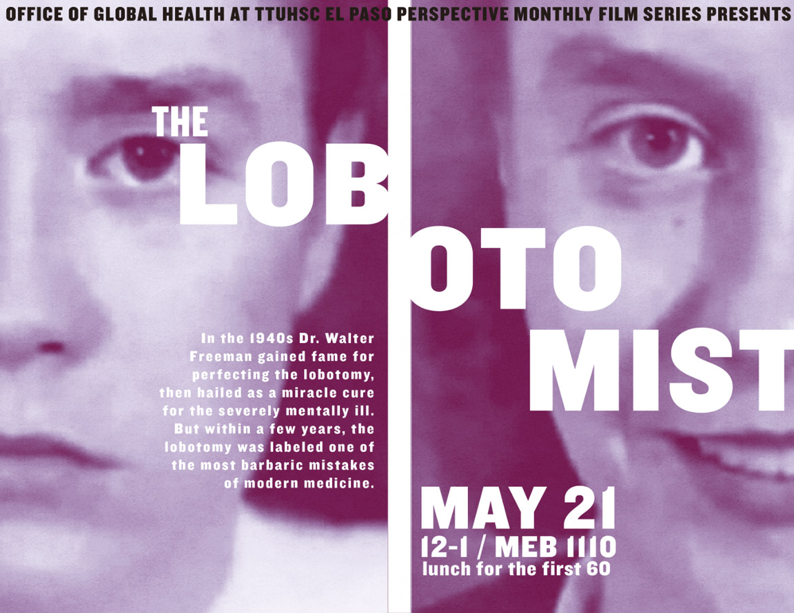 """The Lobotomist"" Brings Attention To Mental Health Awareness Month"