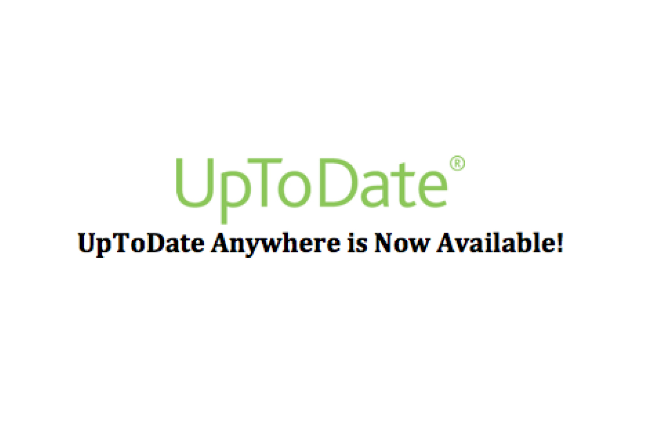 UpToDate® Clinical Decision Support Is Now Available at the TTUHSC El Paso Library