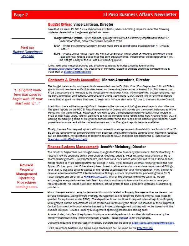 Business Affairs Page 2