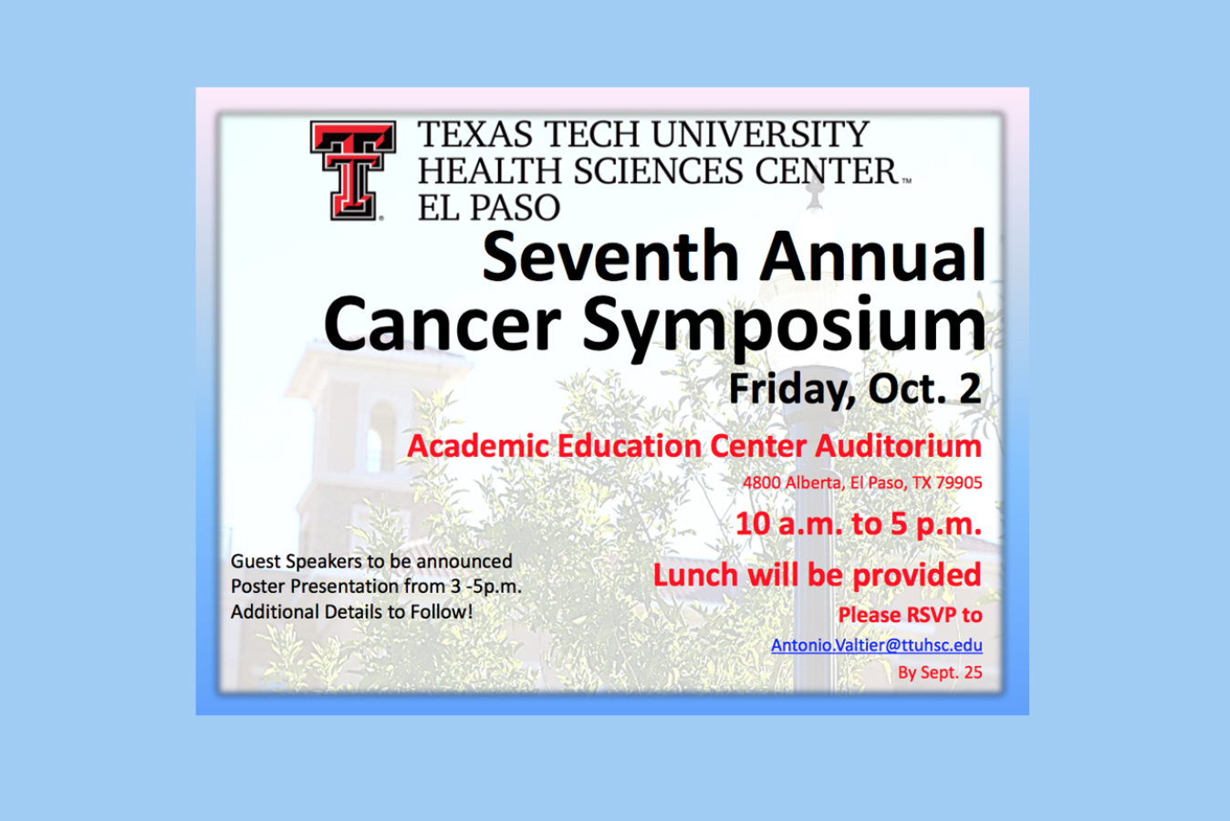 Cancer Symposium