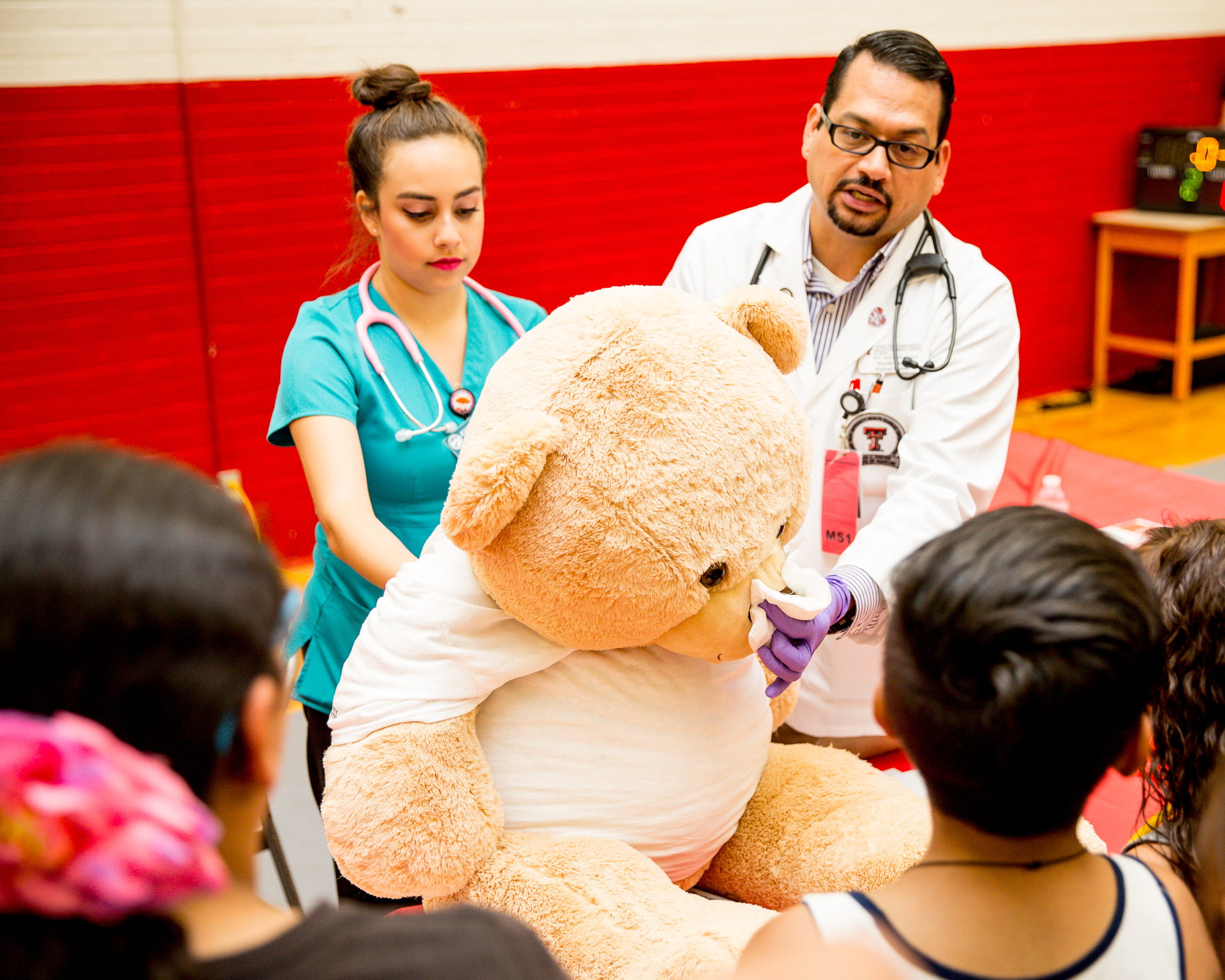 5th Graders Learn About Care at Teddy Bear Clinic
