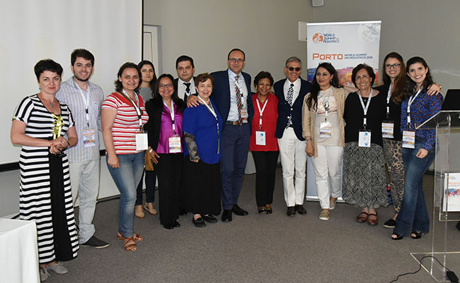 TTUHSC El Paso Faculty Present at World Summit on Pediatrics
