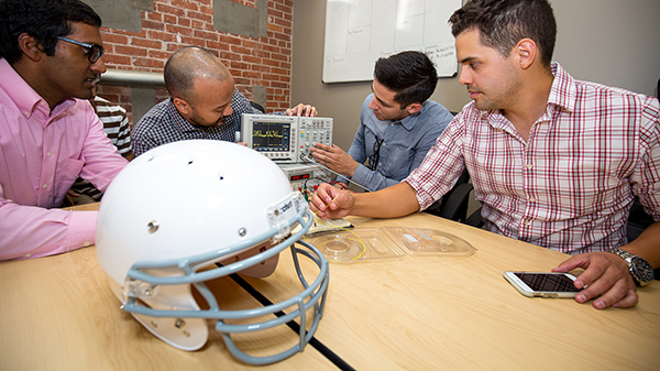 Med Students Build Smart Helmet to Detect Concussions