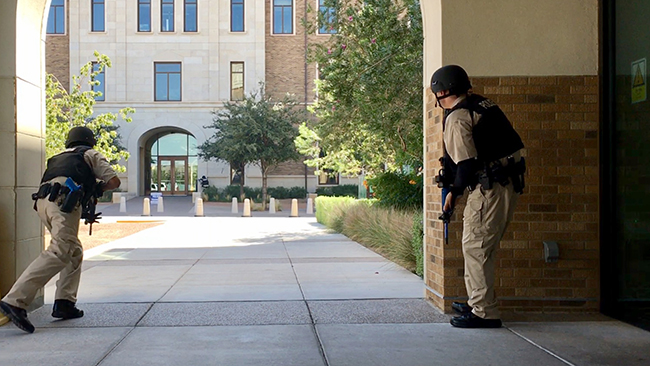 Active Shooter Training Exercise Held at TTUHSC El Paso