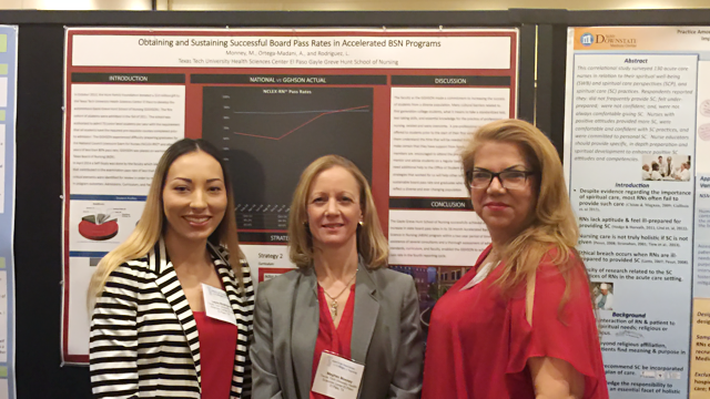 TTUHSC El Paso Nurses Present at National Nursing Development Conference