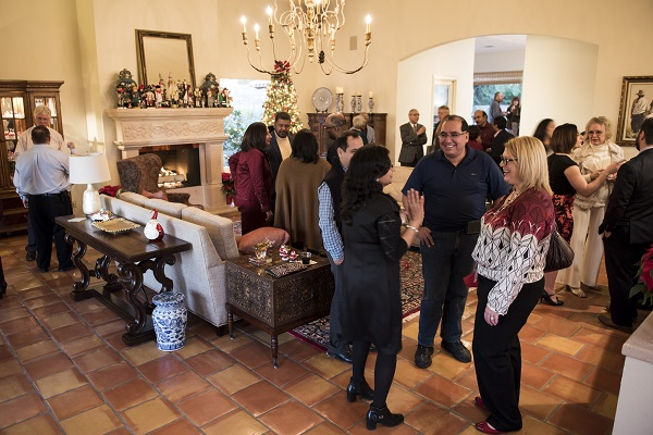 TTUHSC El Paso President Hosts Holiday Open House