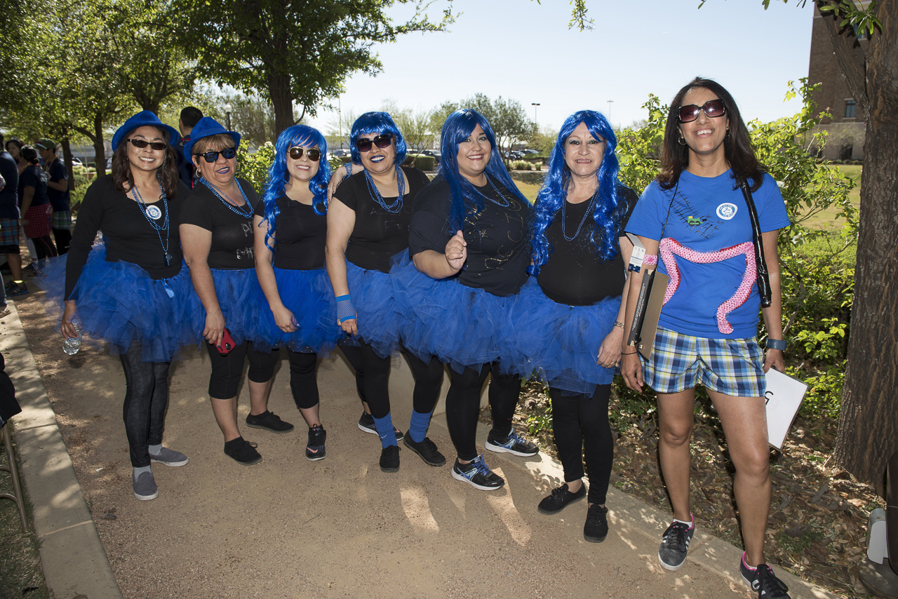 TTUHSC El Paso Hosts Boxer Briefs Walk in Support of Colon Cancer Awareness