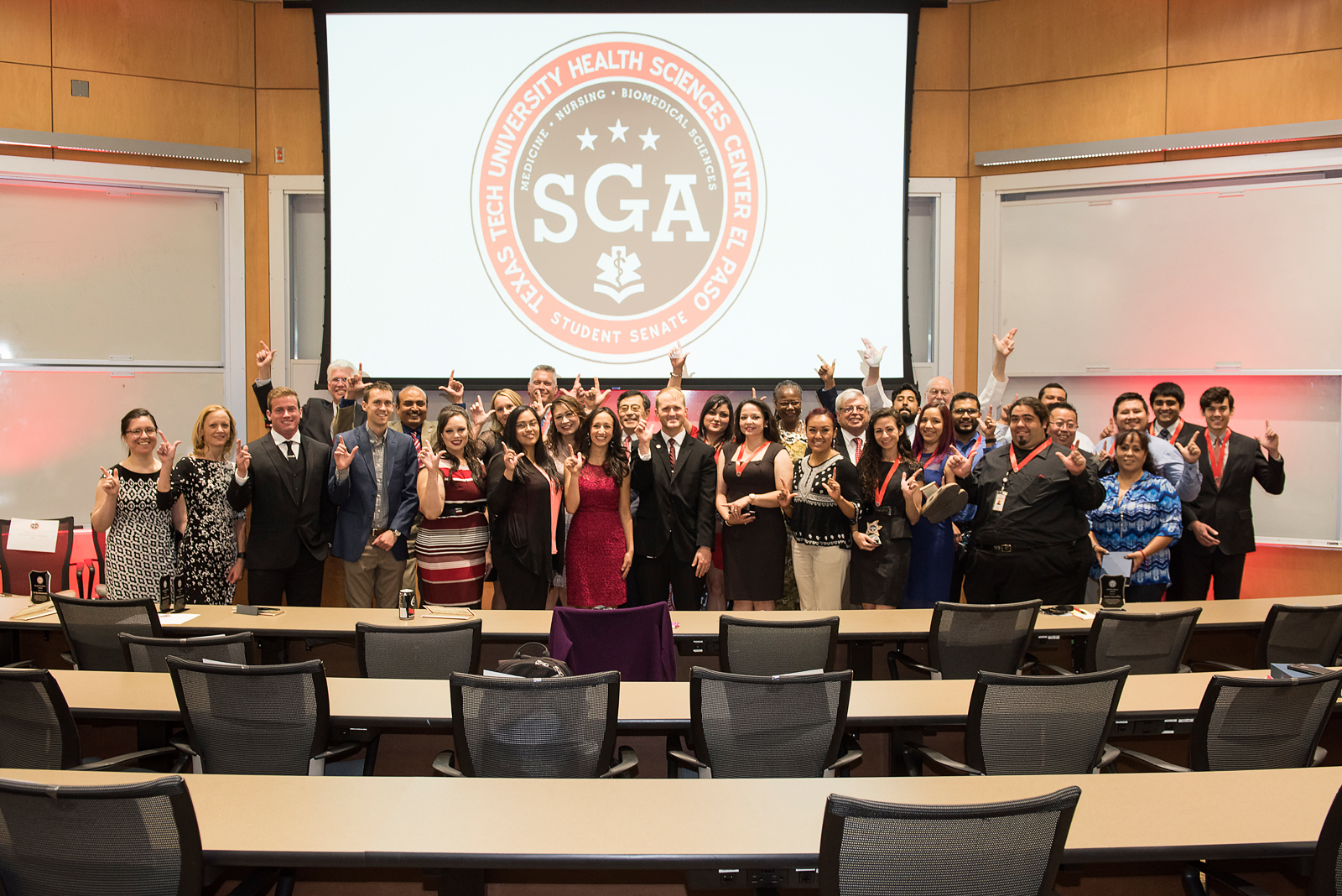 SGA Hosts First-ever Faculty, Staff, and Student Awards