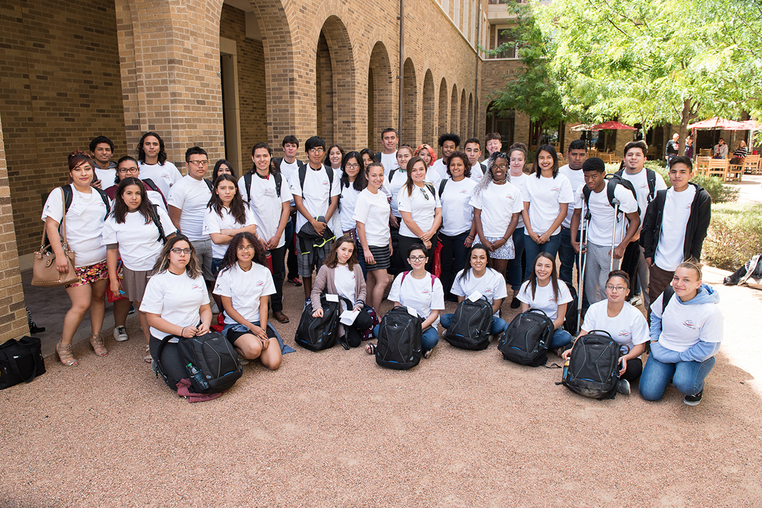 Homeless Students Explore Health Care Careers at TTUHSC El Paso