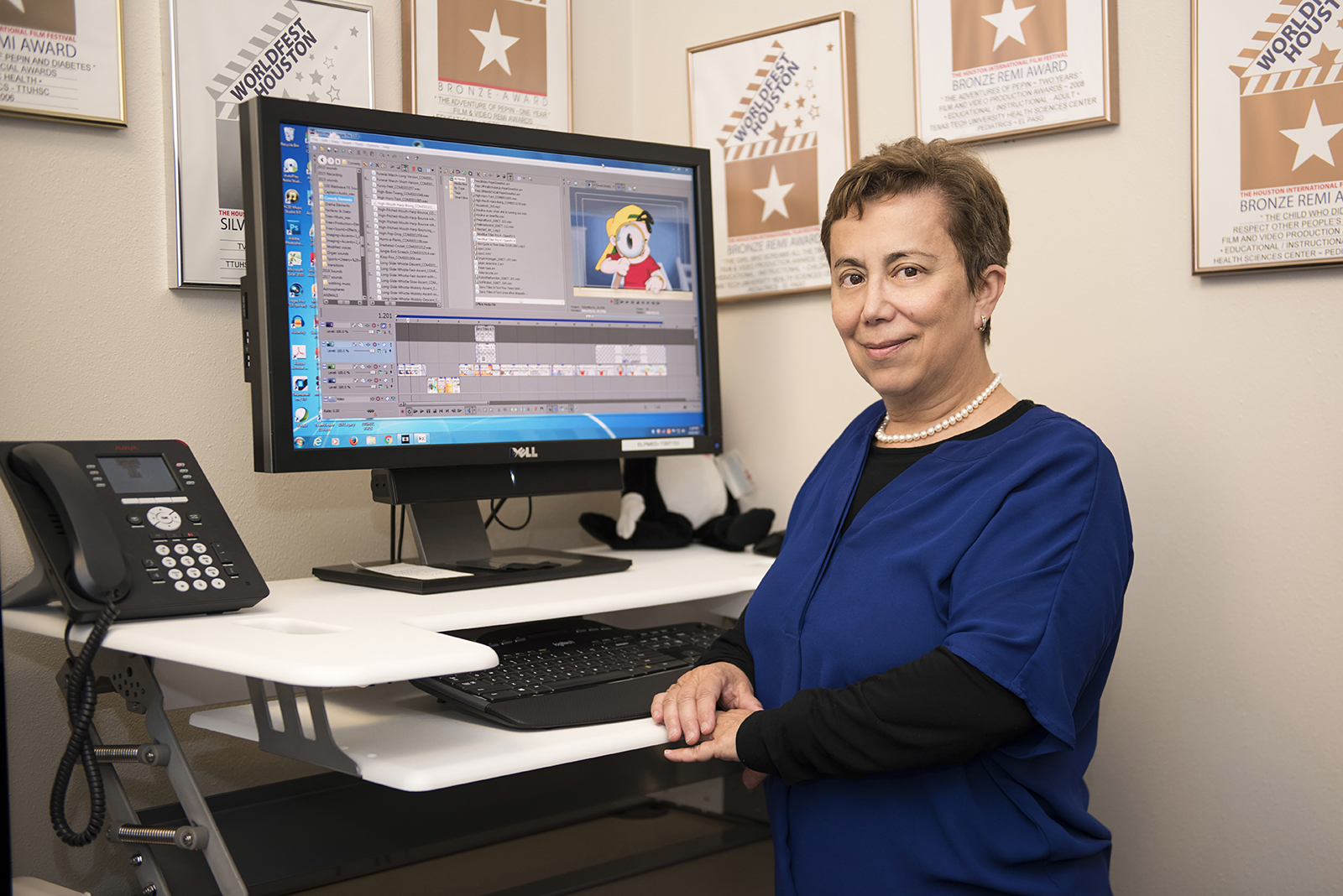 A faculty member at Texas Tech University Health Sciences Center El Paso (TTUHSC El Paso) has a popular YouTube channel that's garnered more than 12 million views. Pediatric researcher Marie Leiner, Ph.D., uses YouTube to share cartoons she creates for children. The cartoons, however, are not just for entertainment — they're educational and specifically designed to solve social problems in children to instill good behavior.