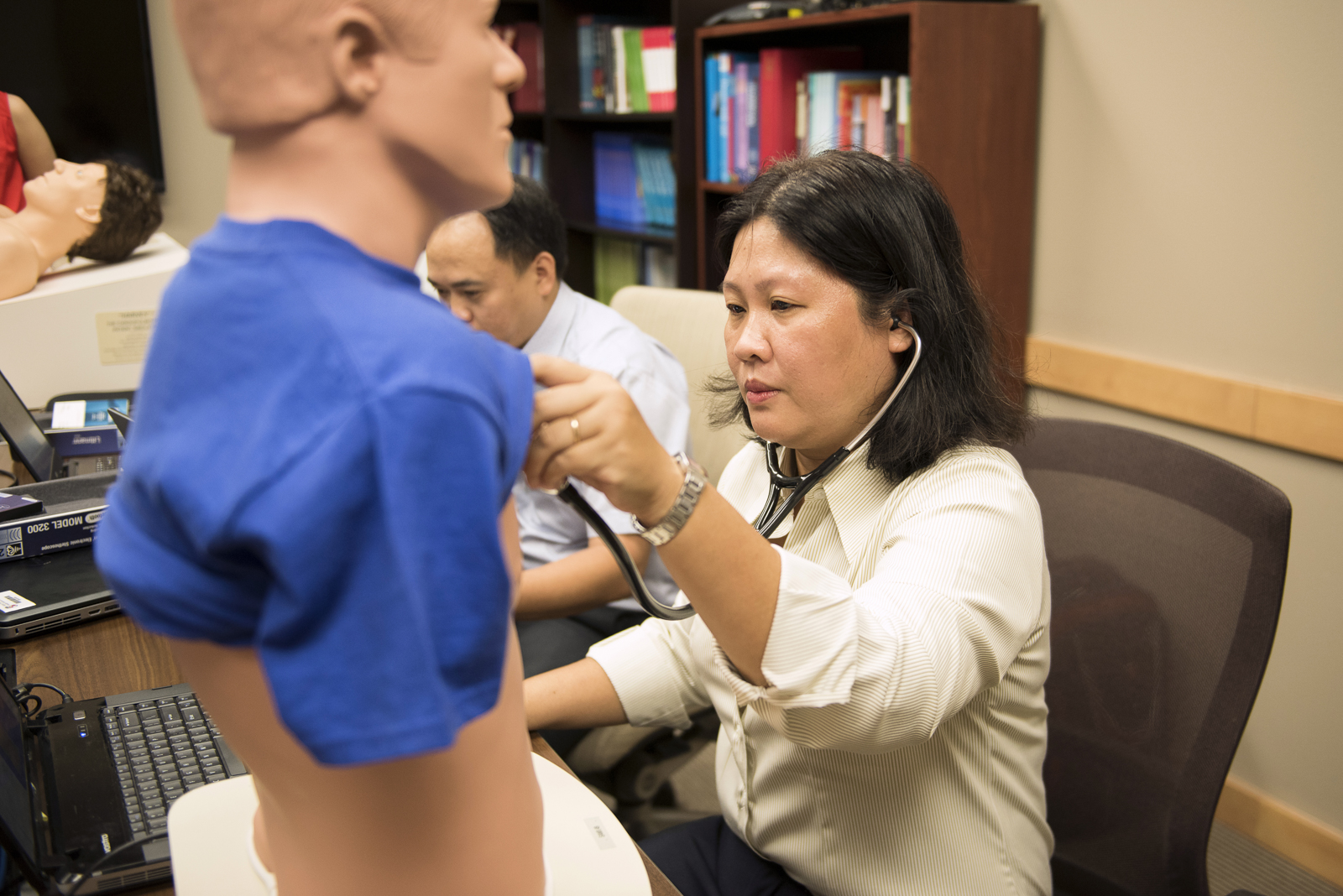 Vietnamese Faculty Conduct Medical Training at TTUHSC El Paso
