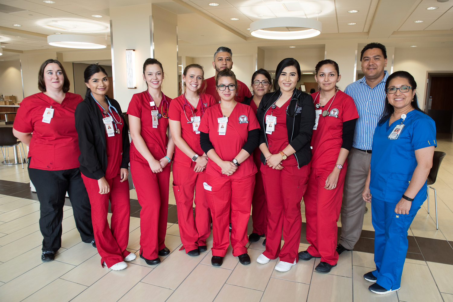 Nurses Begin Rotations at Transmountain Campus