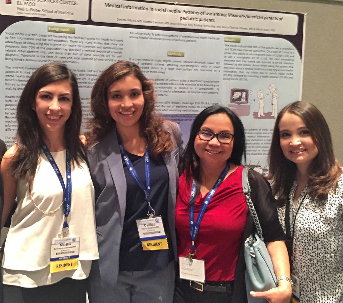Resident Wins Best Poster at National Pediatrics Conference