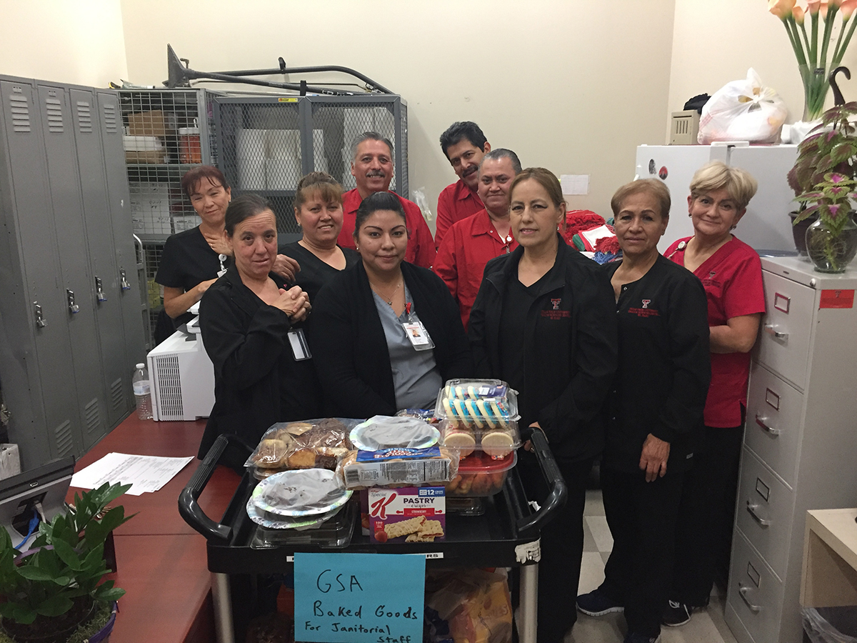 GSA Holds Janitorial Staff Appreciation Day