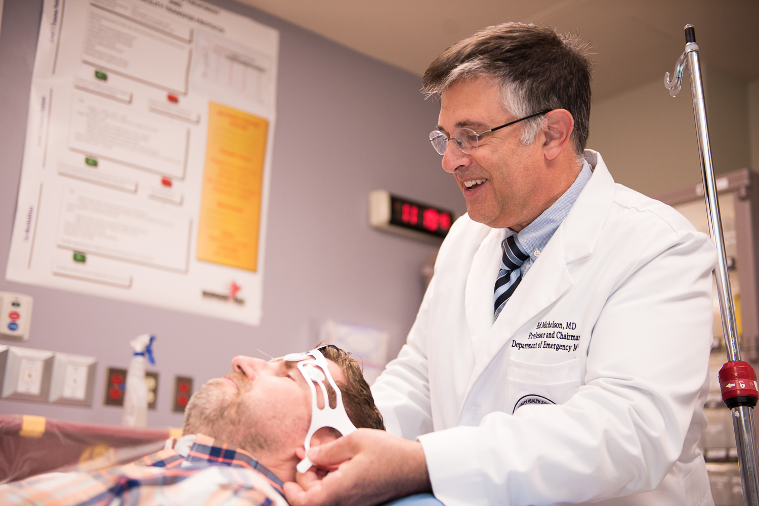 Faculty Member Helps Bring New Brain Injury Technology to the Borderland