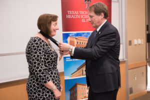 Maureen D. Francis, M.D., professor in the Department of Medical Education at Texas Tech University Health Sciences Center El Paso (TTUHSC El Paso), has received the Chancellor's Council Distinguished Teaching Award.