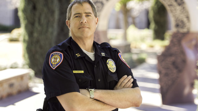 Long-time Texas Tech Police Department veteran Captain Doug Holley was recently appointed to oversee the department at TTUHSC El Paso.