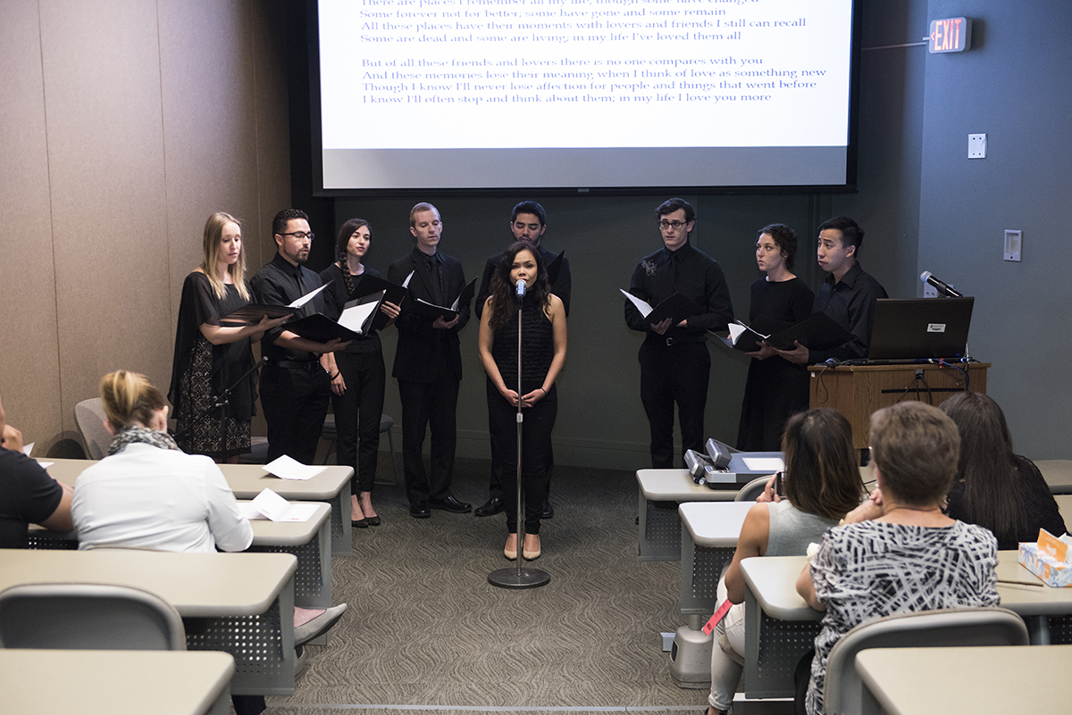 In May, students in Texas Tech University Health Sciences Center El Paso's Paul L. Foster School of Medicine hosted a memorial service for those who made their education possible through the Willed Body Program. The program allows individuals to gift their bodies to medical education when they pass.