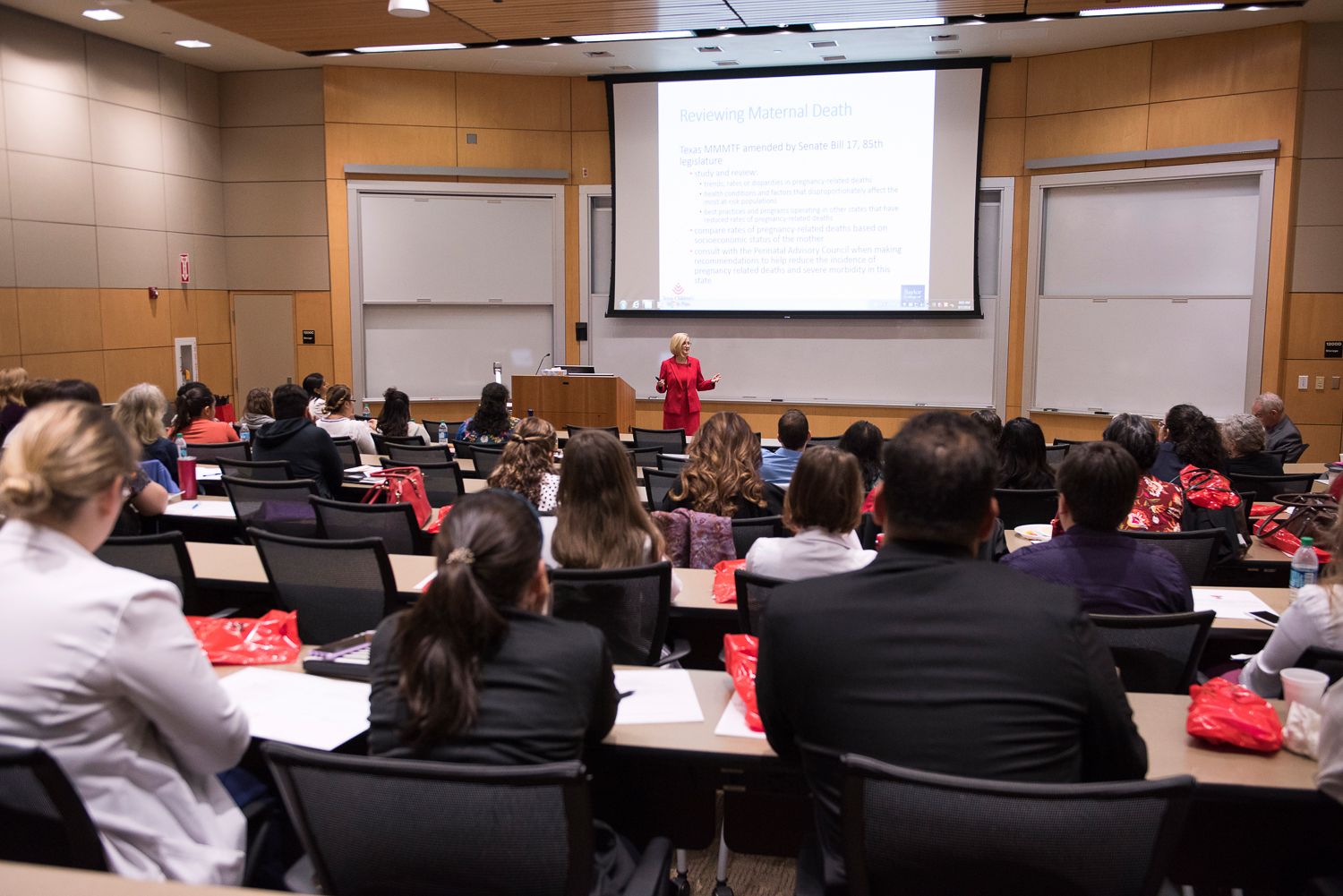 On Friday, Sept. 7, the Paul L. Foster School of Medicine hosted its 13th Annual Obstetrics and Gynecology Symposium.