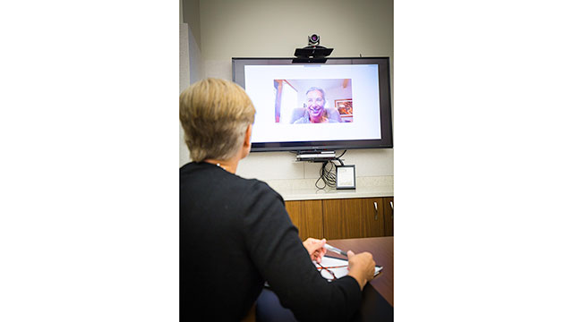 Gayle Greve Hunt School of Nursing Uses Technology to Improve Health Education in Rural Texas Communities