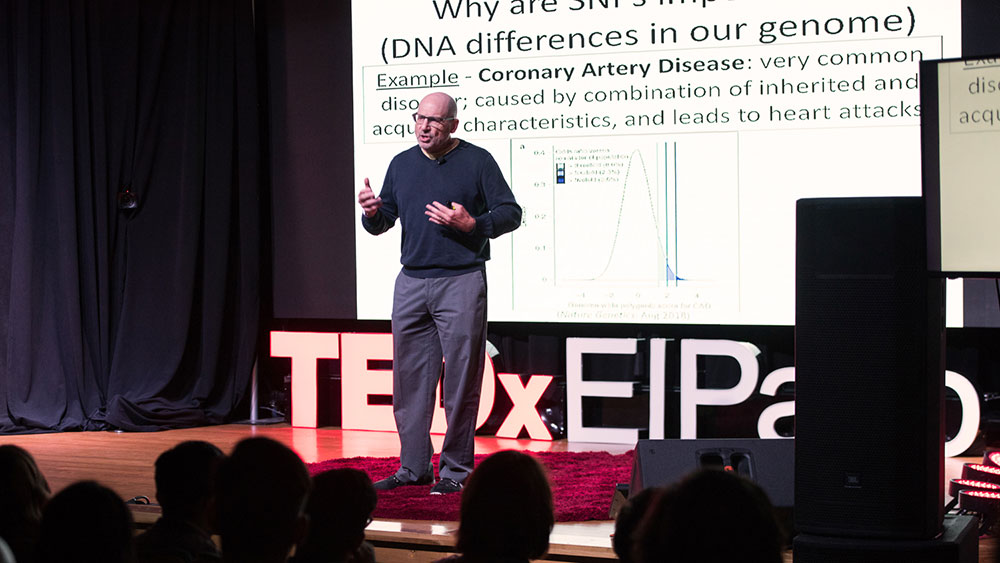 Research VP Peter Rotwein's TEDx El Paso Presentation Now Available Online