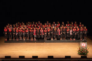 Eighty-six GGHSON graduates were honored at the commencement and pinning ceremony Dec. 15 at the Plaza Theatre.