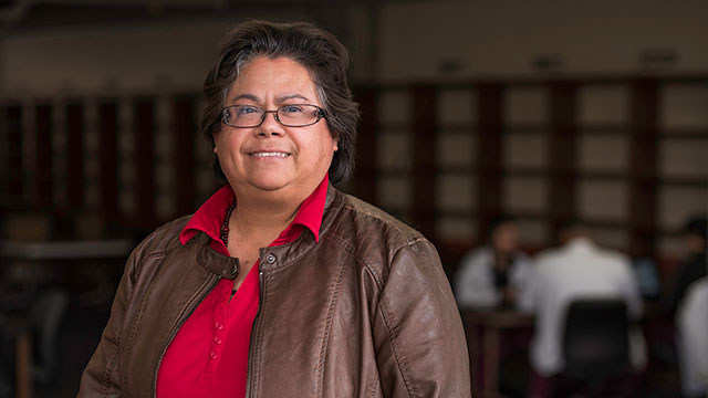 Employee Giving Campaign: Librarian Corina Bustillos Supports the Student Excellence Fund