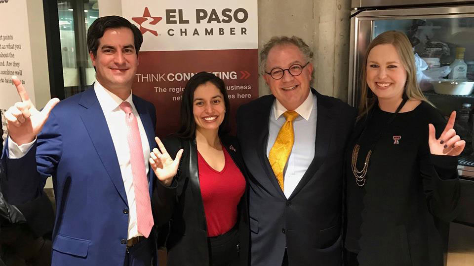 Business Community Promotes Dental School During El Paso Days in Austin