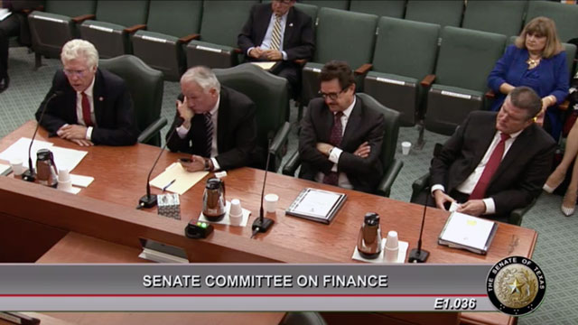TTU System Officials Discuss Exceptional Item Funding Requests Before Texas Senate Finance Committee