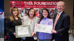 The Champion of Health Award includes a $2,500 grant to help fund MSRC activities.