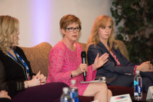 The Women in Healthcare, panel featured Stephanie L. Woods, Ph.D., R.N, dean and professor of the Gayle Greve Hunt School of Nursing at Texas Tech University Health Sciences Center El Paso.