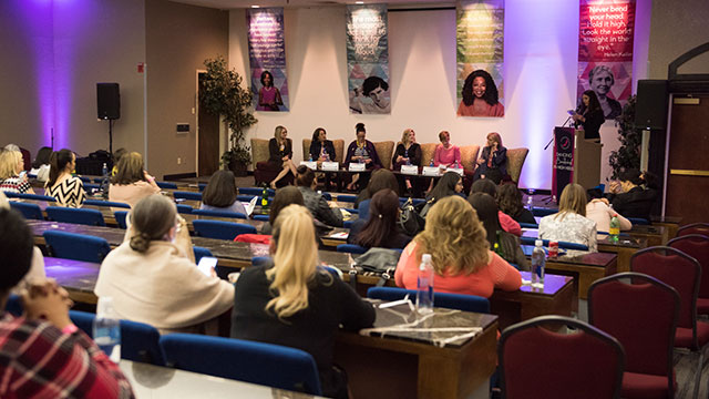 Dean of Nursing Speaks at Annual International Women's Business Symposium