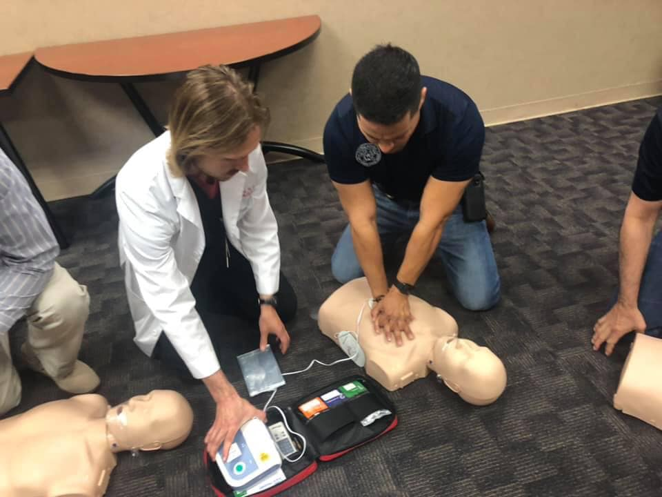 TTUHSC El Paso Offers DA's Office CPR Training