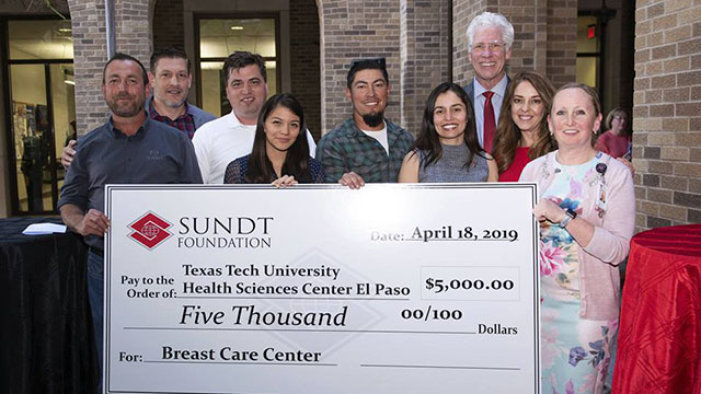 Sundt Employees Help Support Breast Care Center Patients