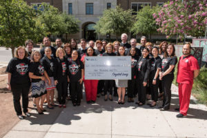 GECU's gift will increase scholarship funding for students and the Gayle Greve Hunt School of Nursing and support activities at the Medical Student Run Clinic in Sparks.