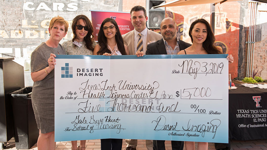 Desert Imaging Gift to Help Educate Nurses, Honor Kharisma James