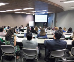 Attilio Orazi, M.D., professor and chair of the Foster School of Medicine's Department of Pathology, presented on the topic of myeloid neoplasms during the Neoplastic Diseases: Update for Practitioners conference at TTUHSC El Paso on July 14.