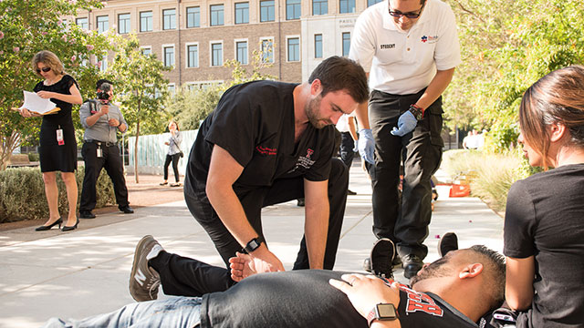 TTUHSC El Paso Disaster Training Helped Prepare Emergency Responders for Mass Shooting