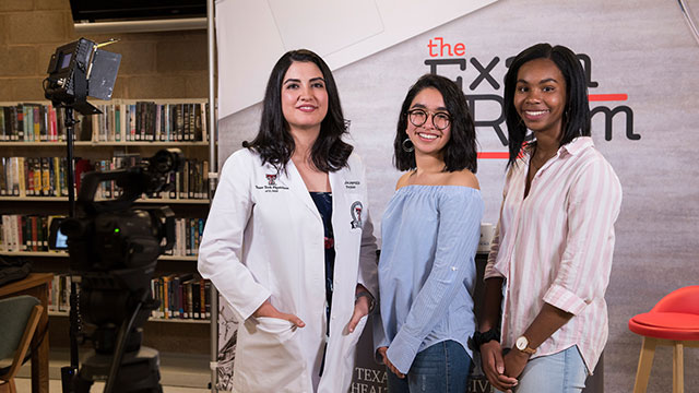 'The Exam Room' Visits Silva Health Magnet High School