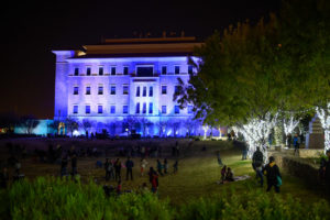 The TTUHSC El Paso campus came to life with lights and music during the fifth annual Cookies, Cocoa and Holiday Cheer celebration.