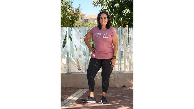 TTUHSC El Paso Assistant Professor Competes in Mighty Mujer Virtual Race After Major Weight Loss