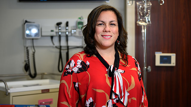 School of Nursing Faculty Highlight: Jaclyn Reyes, M.S.N., R.N.