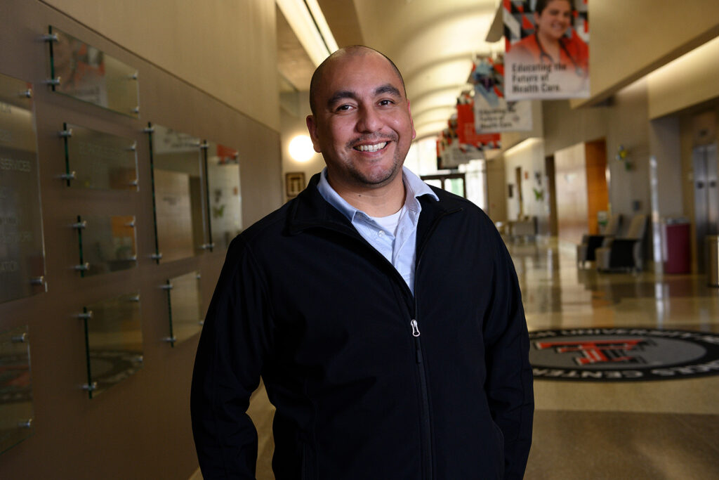 Photo of Joe Diaz, section coordinator for the Office of Student Affairs.