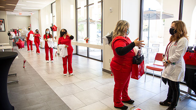 Hunt School of Nursing Receives $100,000 from the Trellis Foundation with Matching Funds from the Texas Workforce Commission