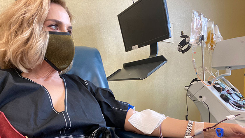 El Paso Woman Inspired to Donate Plasma After Recovering From COVID-19